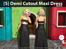 [S] Demi Cutout Maxi Dress Demo