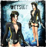 ADVENTURE GEAR Wetsuit (Maitreya / Belleza / Slink / MORE) Lara Croft - Tomb Raider - inspired