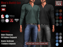GAS [Men's Outfit Set #005]