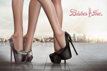 Bishes Inc - ZIP HEELS Multi Color Hud Maitreya Belleza Slink Sexy shoes