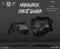 [The Forge] Maurauder Chest Piece, Black