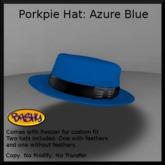 [BASHY] Porkpie Azure Blue (WEAR TO UNPACK)