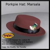 ::BASHY:: Porkpie Hat Marsala