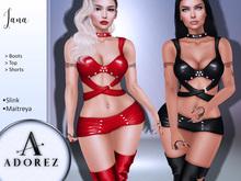 AdoreZ-Iana Outfit Black/Red