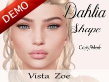 """Dahlia Shape """"Vista Zoe Head"""" Demo"""