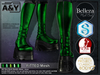 A&Y Deuz Boots Metallic (Male) - Green