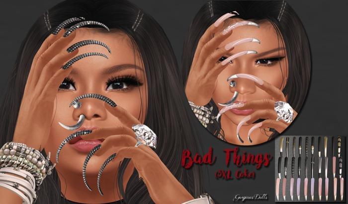 ~GD~Bad Things(3XL Coke Fetish) - Slink Dynamic Hands(fem)