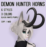 Demon Hunter Horns