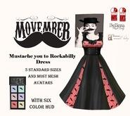 Movember Rockabilly Dress w/ HUD