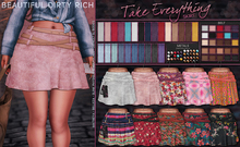 *B.D.R.* Take Everything -Skirt- / 35 Colors-Patterns HUD