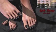 ~GD~Bad Things(Claws/Pedi) - Slink Male Mesh Feet