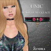 Unic choker necklace