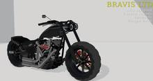 Bravis VXS 500 Tonk Motorcycle