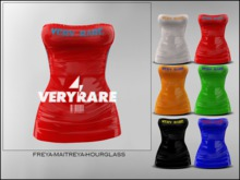 "#VERYRARE ""RARE"" PLASTIC, DRESS [ROHO]"