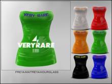 "#VERYRARE ""RARE"" PLASTIC, DRESS [LIME]"