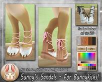 [TJR] Sunny Sandals for Bunnykicks