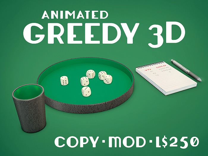 Play the Greedy 3D Game