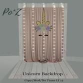 Po^Z Ushia - Unicorn Backdrop