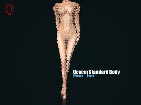 DEV KIT FOR OCACIN STANDARD FEMALE BODY - Fitmesh Bento Mesh Body