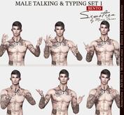 SEmotion Male Bento Talking & Typing Set 1 - 5 animations