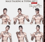 SEmotion Male Bento Talking & Typing Set 2 - 5 animations