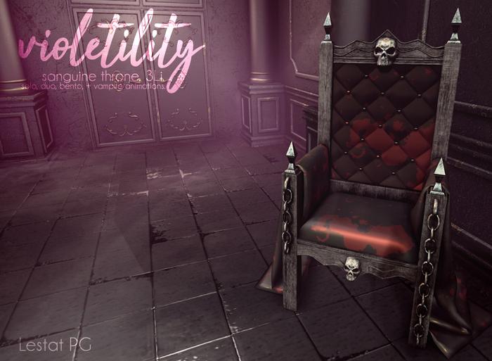 Violetility - Sanguine Throne [Lestat] PG