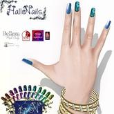 Hallnails  glitter nailart