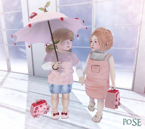 p.o.s.e. spring walk