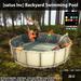 satus inc  backyard swimming pool ad