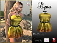 LR-Lyne Dress Yellow (sac)