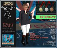 .::MD::. Mesh Equestrian Outfit - Women - Fitmesh Update! Tonic, Maitreya, Belleza, Slink, Ocacin, eBody, FM, Standard