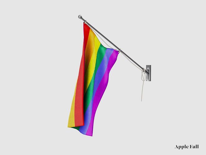 Apple Fall Pride Flag