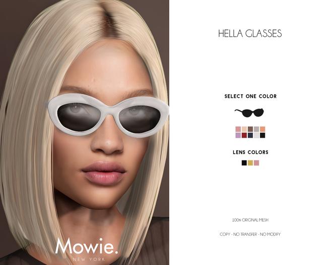 "Mowie. - ""Hella"" Glasses"