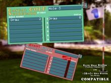 Casual Golf Scorecard