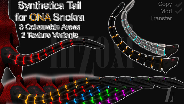 [inZoxi] - Snokra Synthetica Rigged Tail