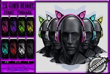 [TD] T.K Gamer HeadSet [UNISEX]