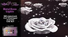 #Cranked# Metal Rose Lights + Rose Hud