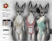 Apple Heart Inc. Demo Jomo Laura Top + Panty with Hud