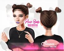 #Besom~Pixie bun *Blondes*