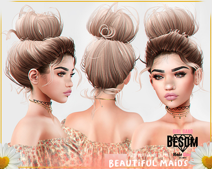 #Besom~Beautiful Maids *B&W*