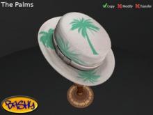 :::Bashy::: Porkpie Hat Palms (WEAR TO UNPACK)