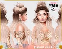 #Besom~Flower child *B&W*