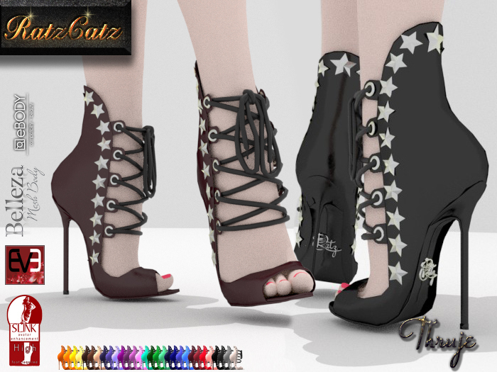 .:RatzCatz:. Thruje Heel Sandals