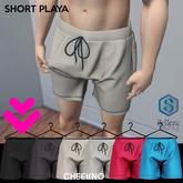 CHEERNO - S/S_18 Short Playa Dark