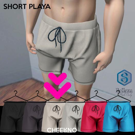 CHEERNO - S/S_18 Short Playa Clear