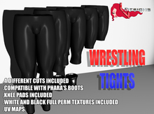 ::LV:. Modifiable Wrestling Tights and Knee Pads for Gianni