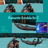 Romantic Gondula for 2-Crate