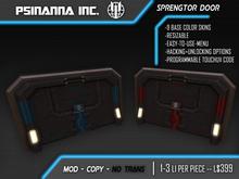 PsiNanna, Inc. Sprengtor Door