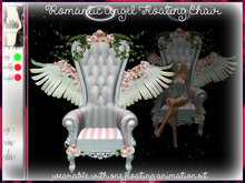 irrISIStible : ROMANTIC ANGEL FLOATING CHAIR wearable