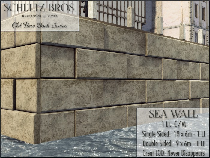 Schultz Bros. Sea Wall